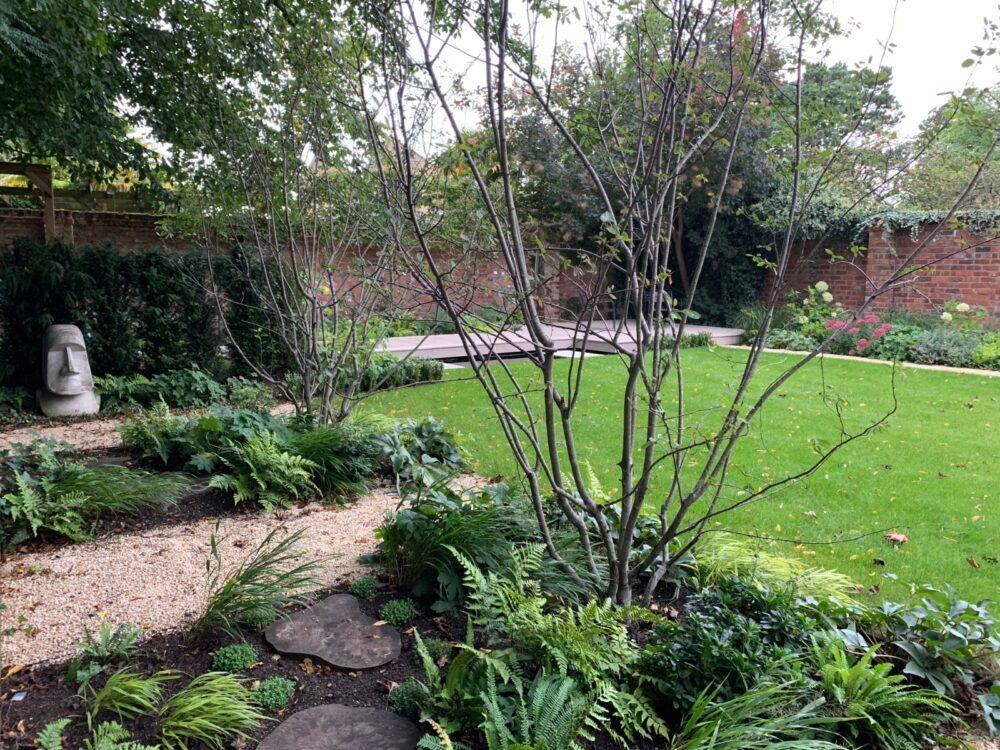 Landscaping bespoke garden design service Manchester from Plantlife Garden Design by Frances Kandel